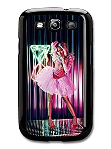 AMAF ? Accessories Nicki Minaj Neons Wearing Pink Dress case for Samsung Galaxy S3 Kimberly Kurzendoerfer
