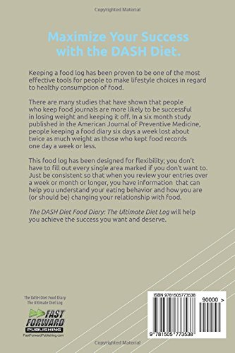 the dash diet food log diary the ultimate diet log the ultimate