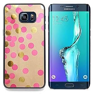 - Polka Dot Paper Art Shiny Pink Dots - - Monedero pared Design Premium cuero del tir???¡¯???€????€???????????&A