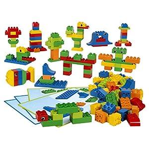 LEGO Education 45019 Creative LEGO DUPLO Brick Set (Pack of 160) - 51dO5lF47KL - Creative LEGO DUPLO Brick Set by LEGO Education