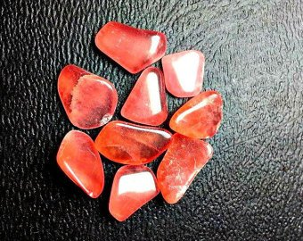 Cabochon Cluster Ring - 16ct Rhodochrosite Stones. Ring Size, Good Quality Polished Rhodochrosite Gems. Parcel For Wire Wrapping/ Jewelry.