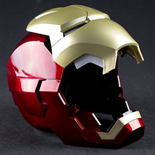 Iron Man Mask Light Up Eyes - 7