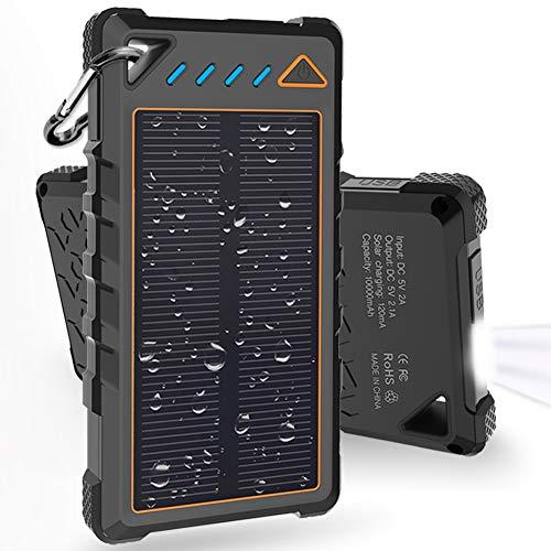 Hobest 10000mAh Waterproof Solar Charger