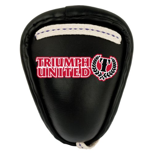 Triumph United Steel Protective Cup, Black, Large