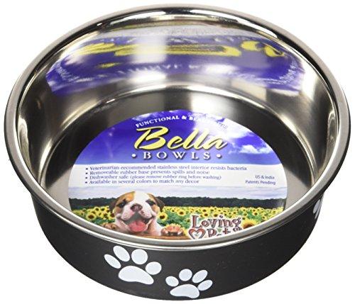 - Loving Pets Bella Bowl for Dogs, Small, Espresso
