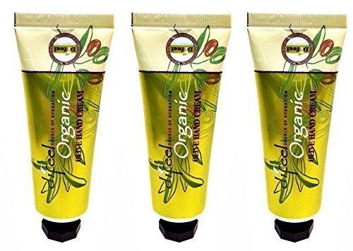Difeel Organic Olive Hand Cream 1.5 Oz / 42 Ml Combo !!! (3 pack)