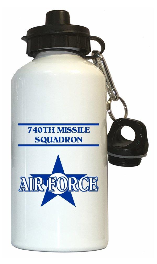 740th Missile隊 – 米国空軍水ボトルホワイト B01MTJUC86