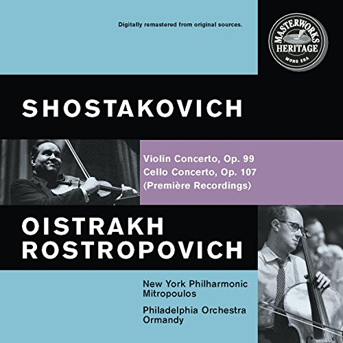 Shostakovich: Violin Concerto, Op. 99; Cello Concerto Op. (Shostakovich Violin Concerto)