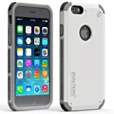 PureGear DualTek Snap On Durable Slim Protective Stylish Shock absorbing Case for iPhone 6S /6/, Arctic White