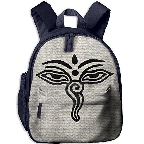 Mini School Daypack Original With Tibetian Eyes For Kindergarten Unisex Kid - India Day Louisville