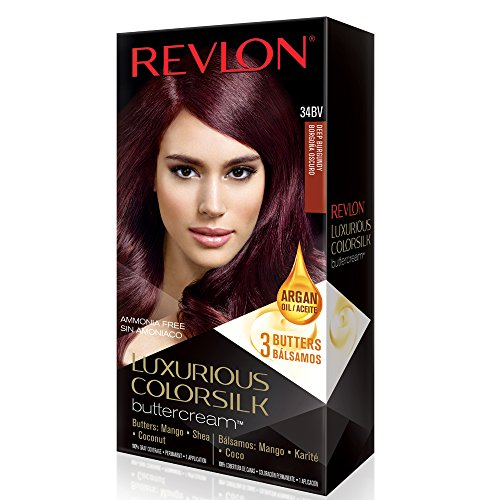 Revlon ColorSilk Luxurious Buttercream Hair Color - Deep Burgundy - oz