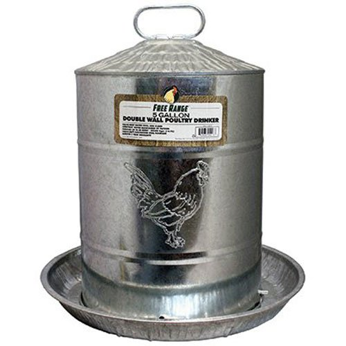 Harris Farms Galvanized Poultry Drinker product image