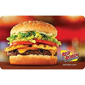 Red Robin Restaurant Gift Card