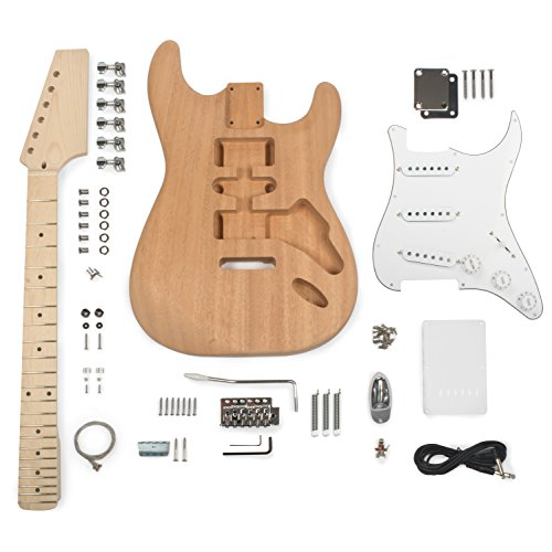 StewMac Build Your Own S-Style Electric Guitar Kit ()
