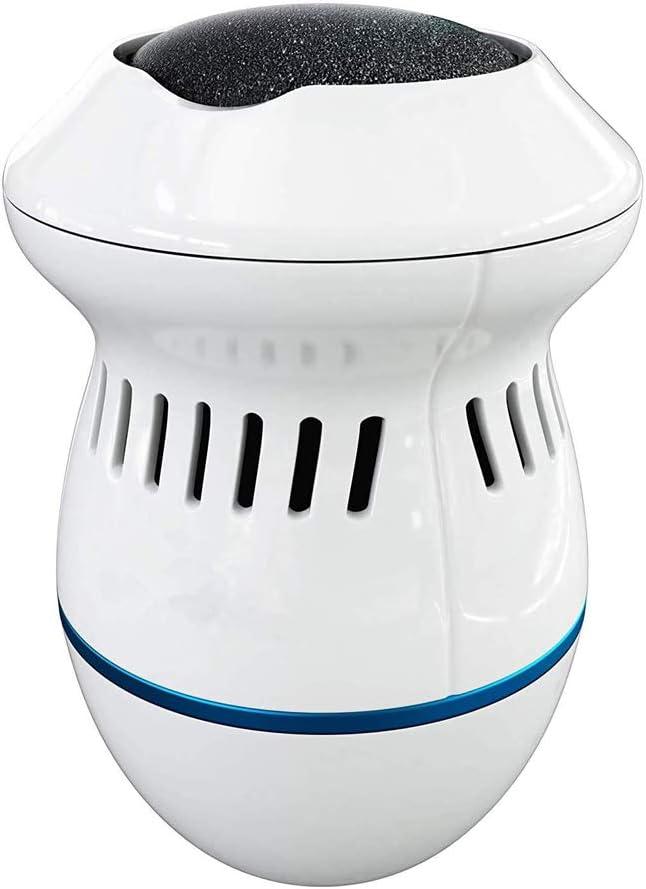 MQSS Pedicura Eléctrico, Remoción de Callos motorizada, Limpiador eléctrico de pies, Recargable Elimina Fácilmente Callos y Piel