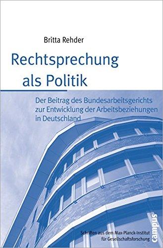 Rechtsprechung als Politik pdf epub