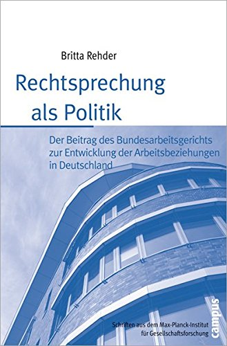 Download Rechtsprechung als Politik ebook