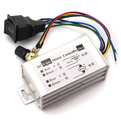 Home Improvement Motor Controller Dc 9-60v 20a Pwm Ac Motor Speed Regulator Controller Module