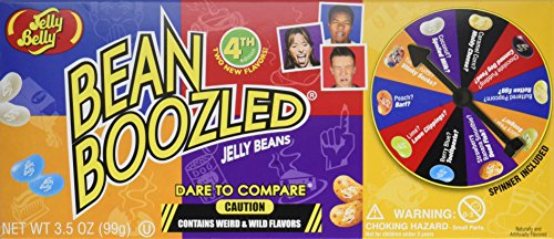 Jelly Belly Bean Boozled Spinner Gift Box Game, Net Wt 3.5oz And Refill Box (Jelly Beans For Kids)