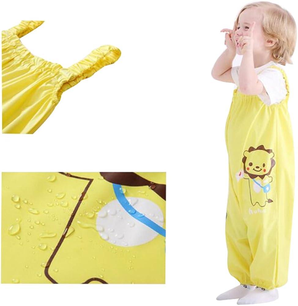 LIUONEXI Unisex Baby Jungen M/ädchen Regenhose Wassdichte S/ü/ß Regenlatzhose Matschhose Buddelhose Gr/ö/ßen