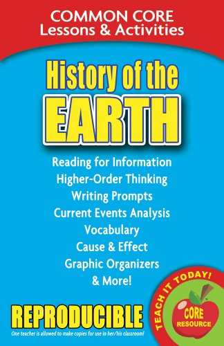 History of the Earth - Common Core Lessons and Activities