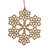 Christmas Wood Pendant Hanging,Lovewe 10pcs Wooden Pendant Christmas Decorations Children's Home Decoration Gifts (E)