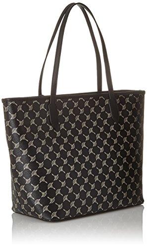 b T Cortina black Schwarz Secchiello H 17x29x32 Lara Cm Shopper X Lhz Joop Donna Borse A Metallic aqdAOnO