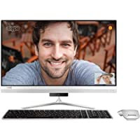 Lenovo F0CU000NUS IdeaCentre 520s All-in-One PC with Intel i7-7500U, 16GB 256GB SSD, 23.8