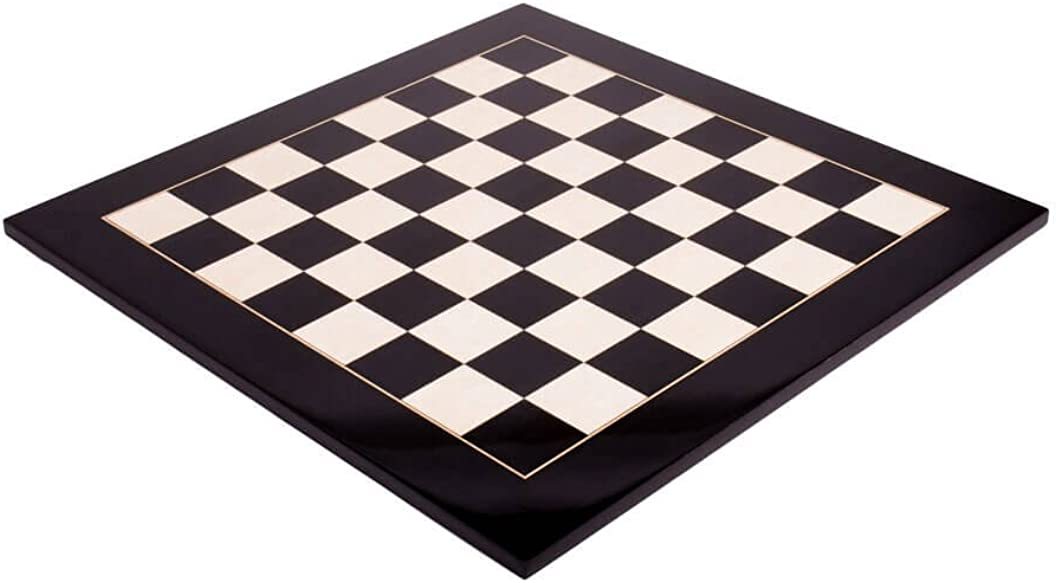 2.375 Gloss Finish The House of Staunton Blackwood Standard Traditional Chess Board