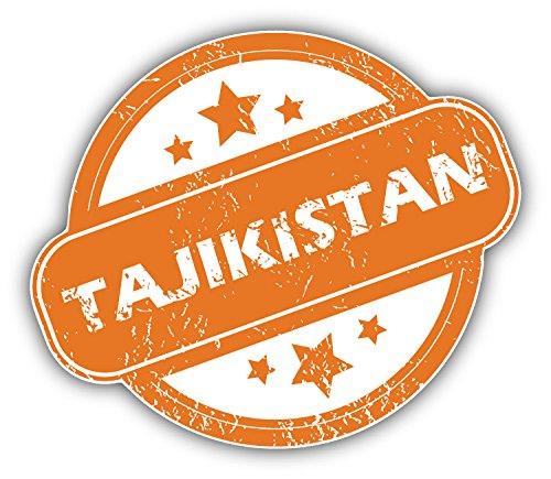 Review Tajikistan Grunge Stamp Art
