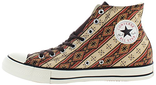 Converse Chuck Taylor All Star Hi Top Sneakers Da Uomo Bruciato Umber / Fire Brick / Willow