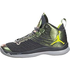 Jordan Nike Men's Super.Fly 5 Dark Grey/Volt Anthracite Basketball Shoe 9 Men US