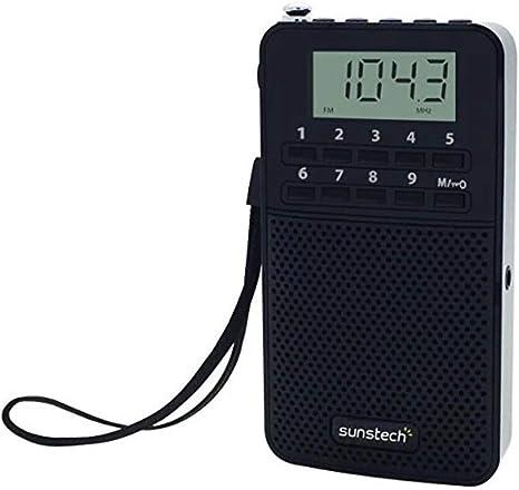 Sunstech RPDS81 - Radio portátil Digital Am/FM con Altavoz ...