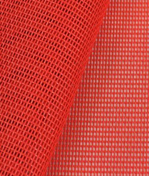 Phifertex Standard Solids - Red Fabric - by the Yard