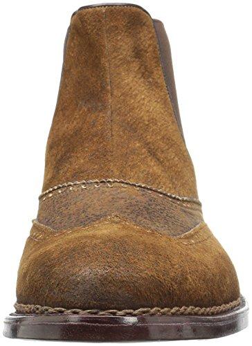 A.testoni Hommes M40326mym Chelsea Botte Cognac