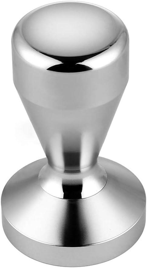 Gobesty Manomissione pressa caff/è 51mm Barista Espresso Tamper Tamper professionale per caff/è Espresso Tamper 51mm Acciaio inossidabile