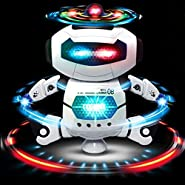 Electronic Dancing Robot Toys Gift for Children | Space Robot Astronaut with Flashing Lights and Music