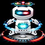 Electronic Dancing Robot with Flashing Lights - Space Robot Astronaut with Music for Kids