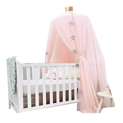 Amazon.com: POPPAP Girl Canopy, Princess Bed Dome Canopy ...