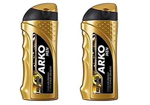 Arko Men Aftershave Cologne Gold Power 250ml (2 PCs Offer) Evyap