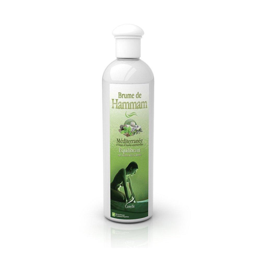 Camylle - Brume de Hammam - Emulsion d'huiles essentielles pour Hammam - Mé diterrané e- Equilibrant - 250ml