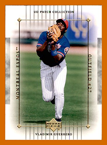 2003 Upper Deck Patch - 2003 Upper Deck UD Patch Collection #63 Vladimir Guerrero MONTREAL EXPOS