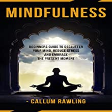Mindfulness: Beginners Guide to Declutter Your Mind, Reduce Stress, and Embrace the Present Moment Audiobook by Callum Rawling Narrated by Niles Weston