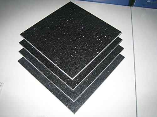 Marble 'n things Granite Tile Flooring Countertops - Black Galaxy 12