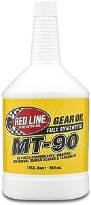 Red Line (50304) MT-90 75W-90 GL-4 Manual Transmission and Transaxle Lubricant - 1 Quart