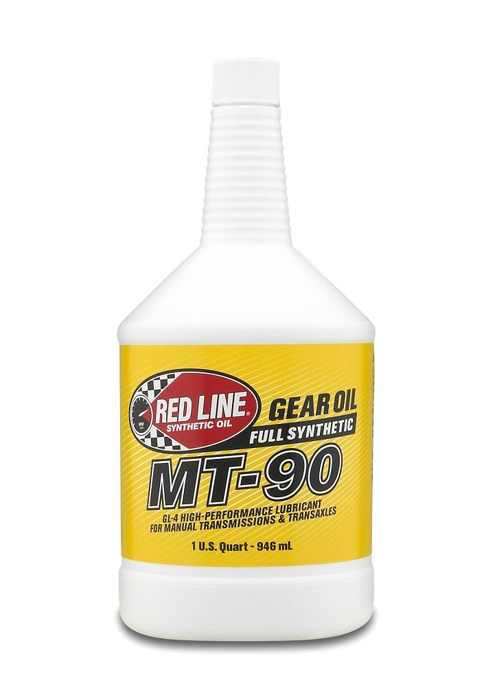 Red Line (50304) MT-90 75W-90 GL-4 Manual Transmission and Transaxle Lubricant - 1 Quart by Red Line Oil