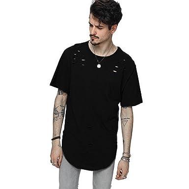 03d73c296c575c Kanpola T-Shirt Herren Mode Männer Kurzarm O-Neck Top Slim Fit Hemden Shirts