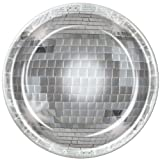 Beistle Disco Ball Plate, 9-Inch