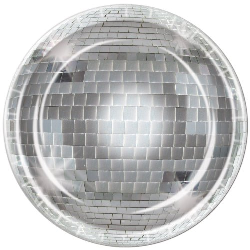 Beistle Disco Ball Plate, 9-Inch -