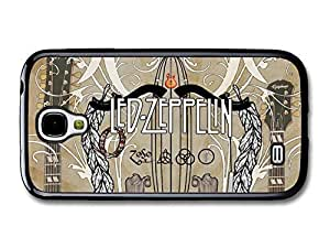 AMAF ? Accessories Led Zeppelin Sepia Illustration with Guitars case for Samsung Galaxy S4